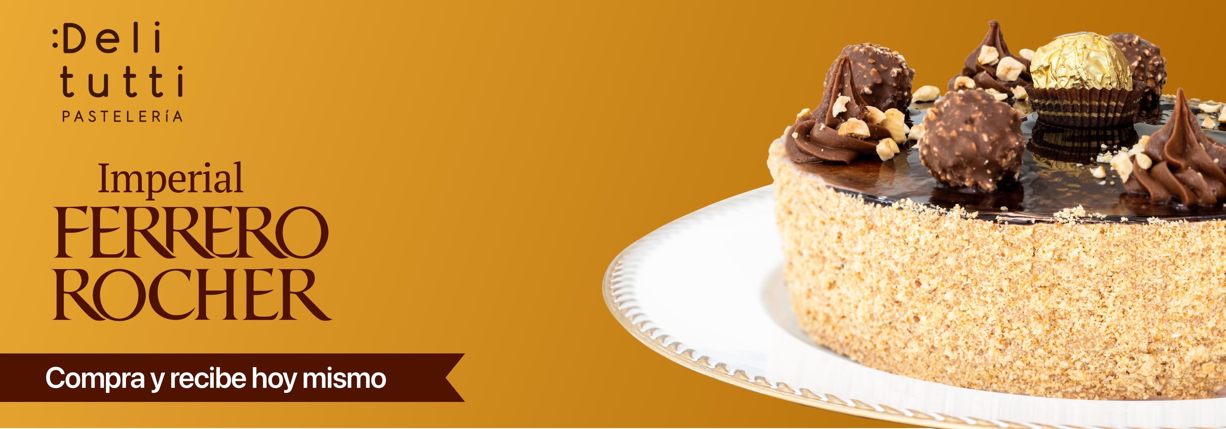 Pastel Imperial Ferrero Rocher